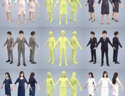3Dpeople-animated-japan